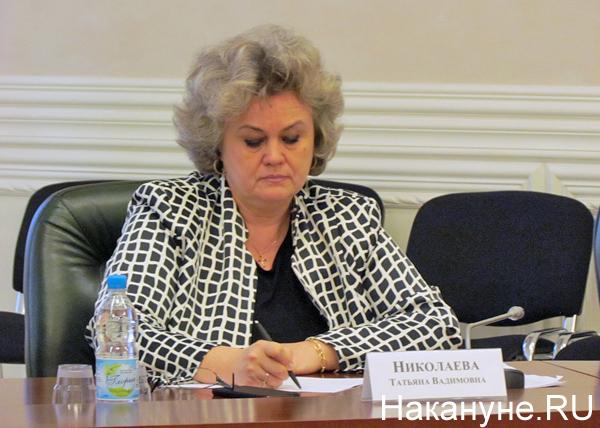 полпредство, совещание, Татьяна Николаева(2017)|Фото: Накануне.RU