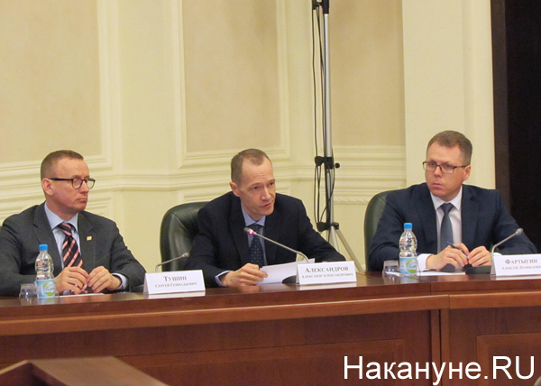полпредство, совещание, Тушин, Александров, Фартыгин Фото: Накануне.RU
