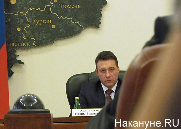 полпредство, совещание, Игорь Холманских Фото: Накануне.RU