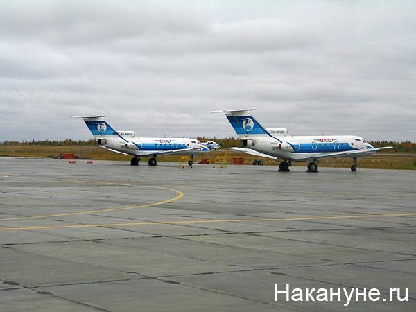 салехард аэропорт самолет як-40 авиакомпания ямал|Фото: Накануне.ru