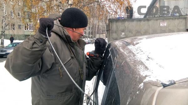 спасатели машина Фото: служба спасения СОВА
