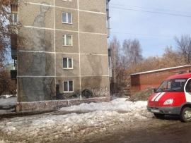 стена дом обрушение Екатеринбург|Фото: ГУ МЧС РФ по Свердловской области