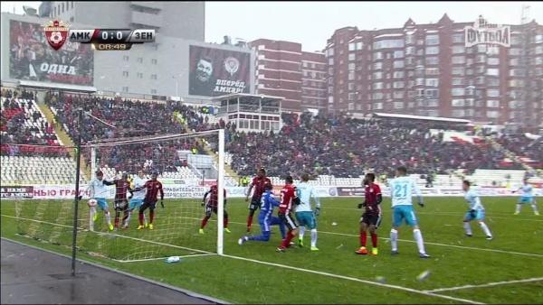 Амкар Зенит гол|Фото: Наш Футбол