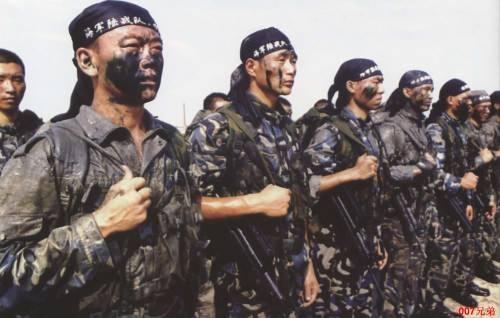 Морская пехота ВМС КНР Фото:baike.so.com