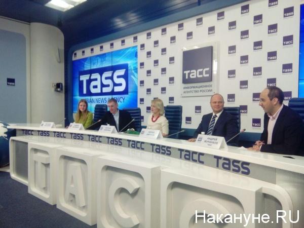 Андрей Мясников, Евгения Чудновец, Антон Цветков|Фото: Накануне.RU