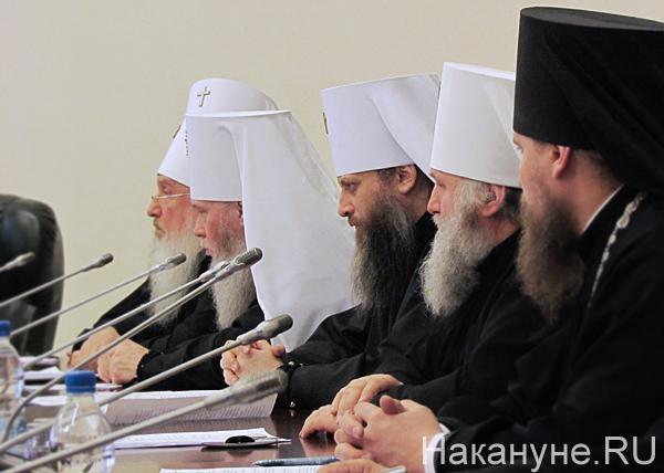 священнослужители, митрополиты Димитрий, Иосиф, Никодим, Павел|Фото: Накануне.RU