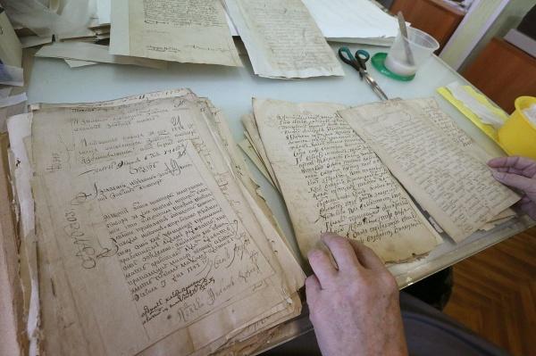 Центр восстановления архивных документов Фото:Татьяна Андреева