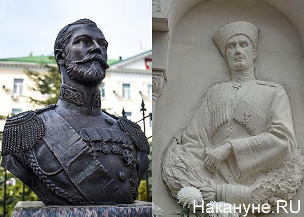 коллаж, Врангель в Крыму, Николай II|Фото: Накануне.RU