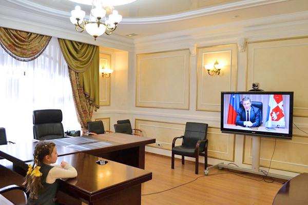 Валерия Ткачева, обращение к президенту Фото: пресс-служба ГФИ по Пермскому краю