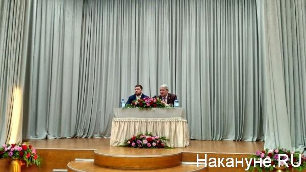 Петр Мультатули, Леонид Решетников, РИСИ|Фото: nakanune.ru