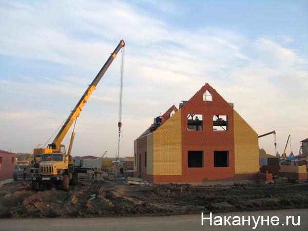 тюмень микрорайон комарово строительство стройка коттедж|Фото: Накануне.ru