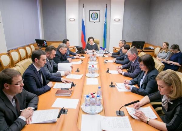 внеочередное заседание правительства ХМАО, Наталья Комарова Фото: правительство ХМАО