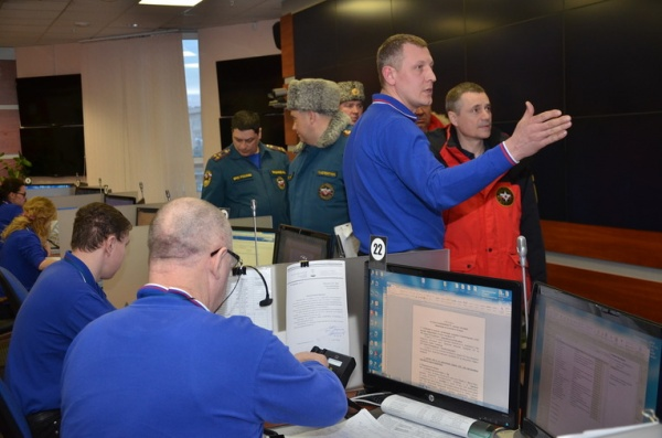 заместитель министра по чрезвычайным ситуациям России Владлен Аксенов|Фото: ГУ МЧС России по СО