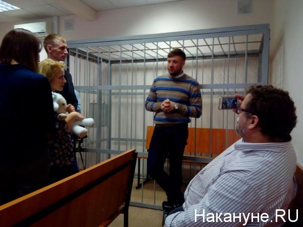 Николай Сандаков, Евгения Чудновец, Андрей Бабушкин,|Фото: Накануне.RU