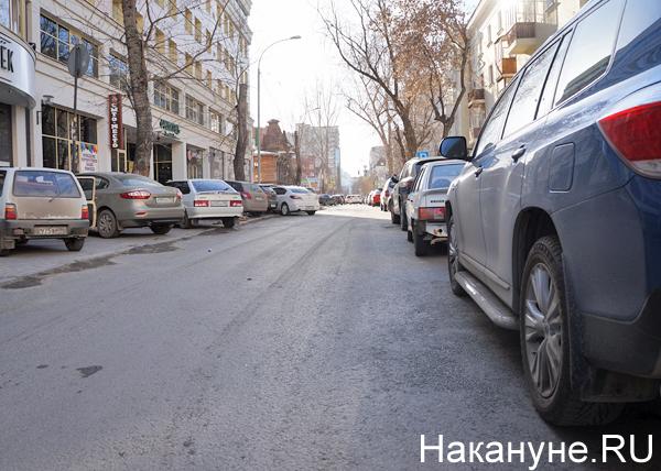 Екатеринбург, Платон, проверка дорог, ремонт, ул. Энгельса Фото: Накануне.RU