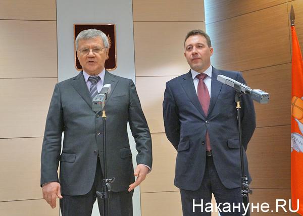 Юрий Чайка, Игорь Холманских|Фото: Накануне.RU