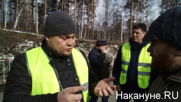 региональный представитель Объединения перевозчиков России Наиль Нигаматуллин|Фото: Накануне.RU