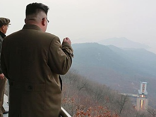 Маршал Ким Чен Ын наблюдает за испытаниями ракетного двигателя|Фото: globaltimes.cn