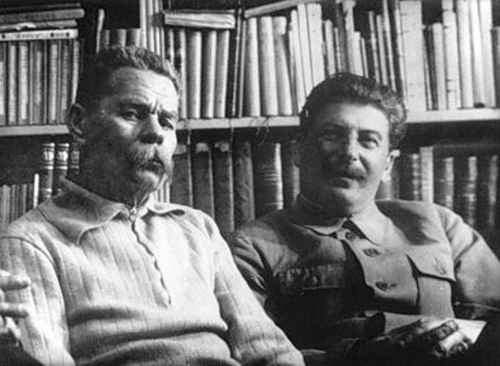 Максим Горький, Иосиф Сталин|Фото: stalinism.ru