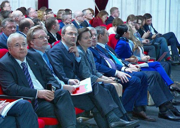 Богоявленский, Комарова, арктический форум|Фото: forumarctica.ru