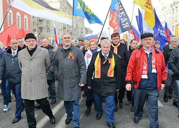 Зюганов, Неверов, Миронов, Жириновский|Фото: kprf.ru