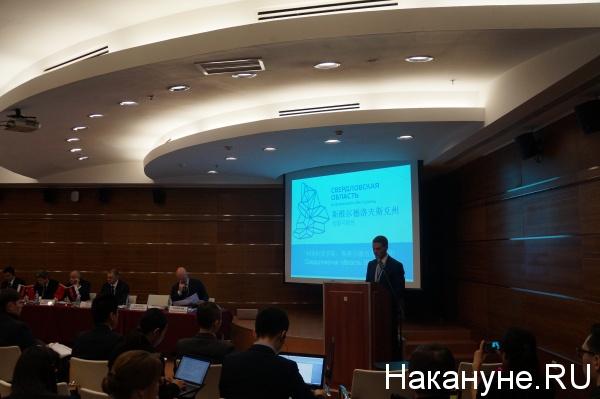 Андрей Соболев, министр международных и внешнеэкономических связей Свердловской области Фото: Накануне.RU