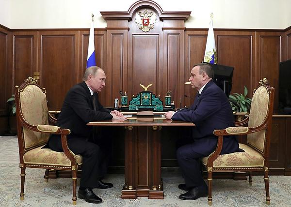 Владимир Путин, Александр Евстифеев|Фото: kremlin.ru
