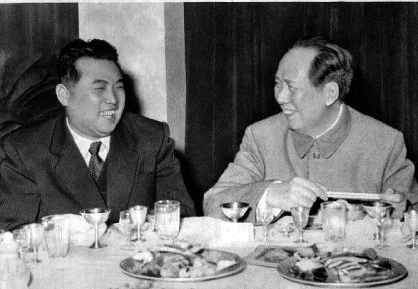 Ким Ир Сен и Мао Цзэдун|Фото: news.china.com