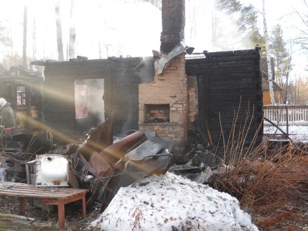 пожарище, дом, пожар|Фото: ГУ МВД по СО