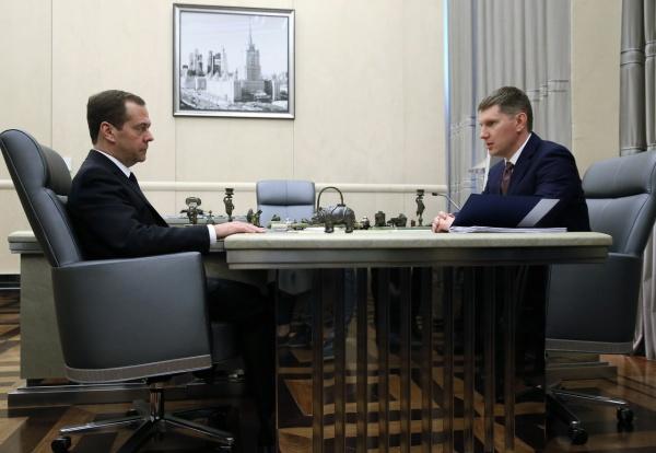 Максим Решетников, Дмитрий Медведев|Фото: http://government.ru/