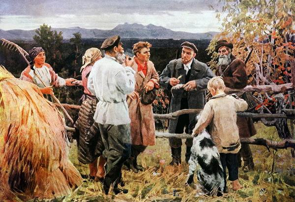 1917, Октябрьская Социалистическая революция, Ленин, апрельские тезисы, Владимир Ильич|Фото: popgun.ru