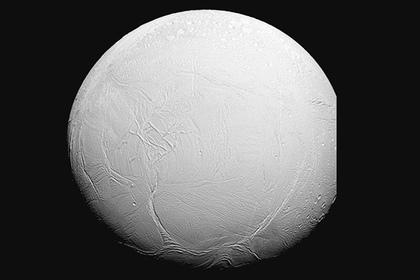 Энцелада – спутника Сатурна  Фото: NASA