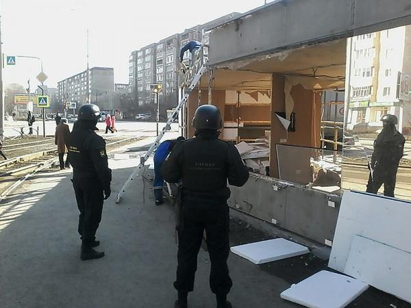 приставы павильон снос|Фото: УФССП по Свердловской области
