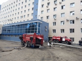 ОКБ пожар Екатеринбург|Фото: ГУ МЧС РФ по Свердловской области