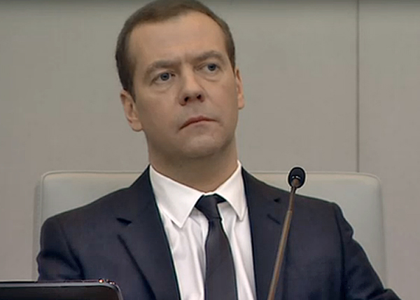 Дмитрий Медведев, выступление в Госдуме с отчетом правительства|Фото: vesti.ru