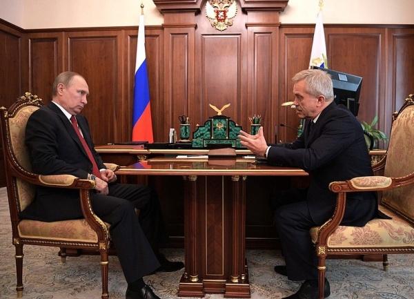 Владимир Путин, Евгений Савченко|Фото: kremlin.ru