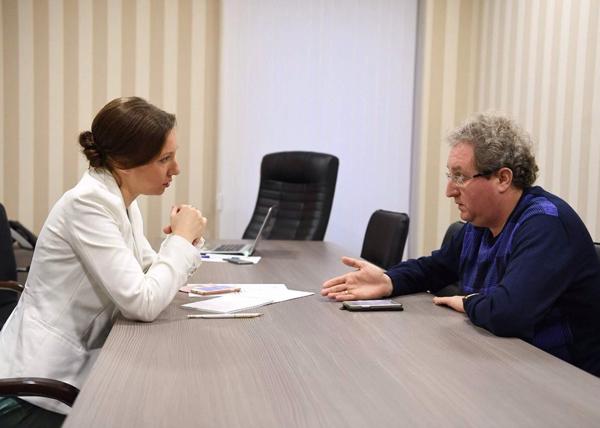 Анна Кузнецова, Павел Миков|Фото: deti.gov.ru