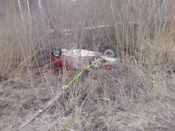 автомобиль, перевертыш, река|Фото: ГУ МВД России по Свердловской области