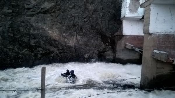 автомобиль, река|Фото: ГИБДД ГУ МВД России по Свердловской области