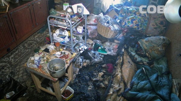 пожар на Колмогорова|Фото: Служба спасения СОВА