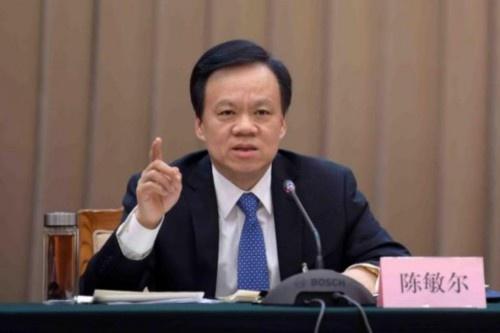 Партийный секретарь Гуйчжоу Чэнь Миньэр|Фото: news.cnfol.com