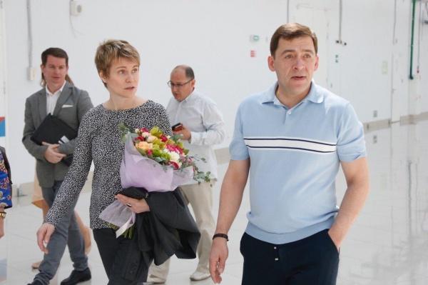 Евгений Куйвашев, Сириус Фото: Департамент информационной политики губернатора СО