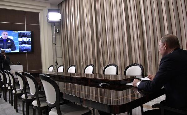 Путин Пучков совещание|Фото: пресс-служба президента РФ