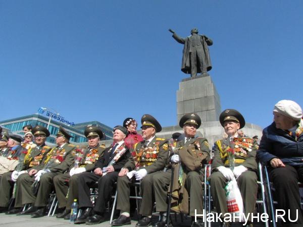 Парад Победы в Екатеринбурге 2017, ветераны(2017)|Фото: Накануне.RU
