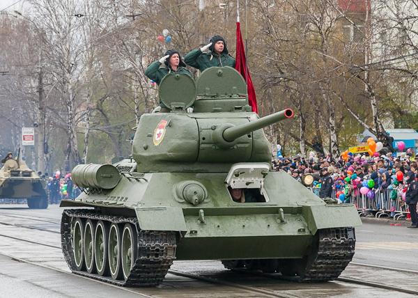 День Победы в Нижнем Тагиле|Фото: мэрия Нижнего Тагила