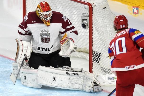 Россия Латвия хоккей|Фото: fhr.ru
