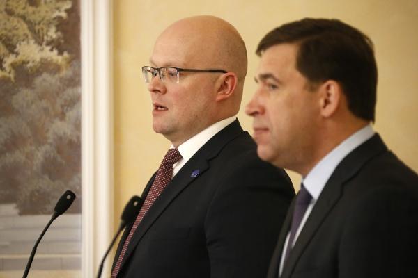 Евгений Куйвашев встреча с послом Финляндии Фото: ДИП губернатора Свердловской области
