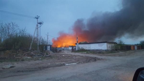 пожар, нелегальная свалка|Фото: Инцидент, Вконтакте