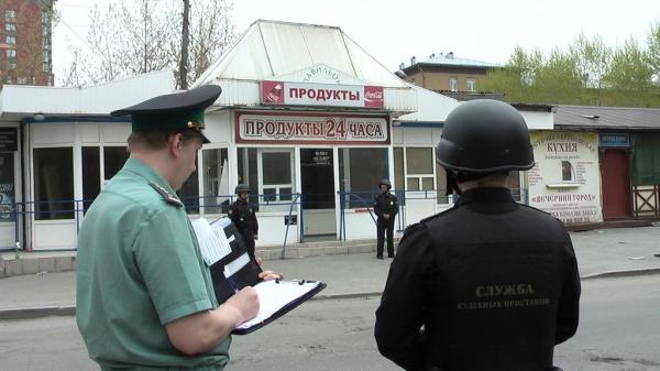 снос кафе и магазина Фото: УФССП по СО