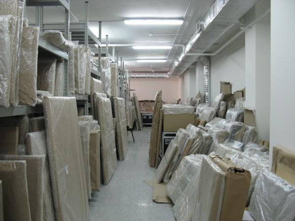 Музей ИЗО-72, фонд,  хранение классической живописи и работ тюменских художников|Фото: Елена Козлова-Афанасьева